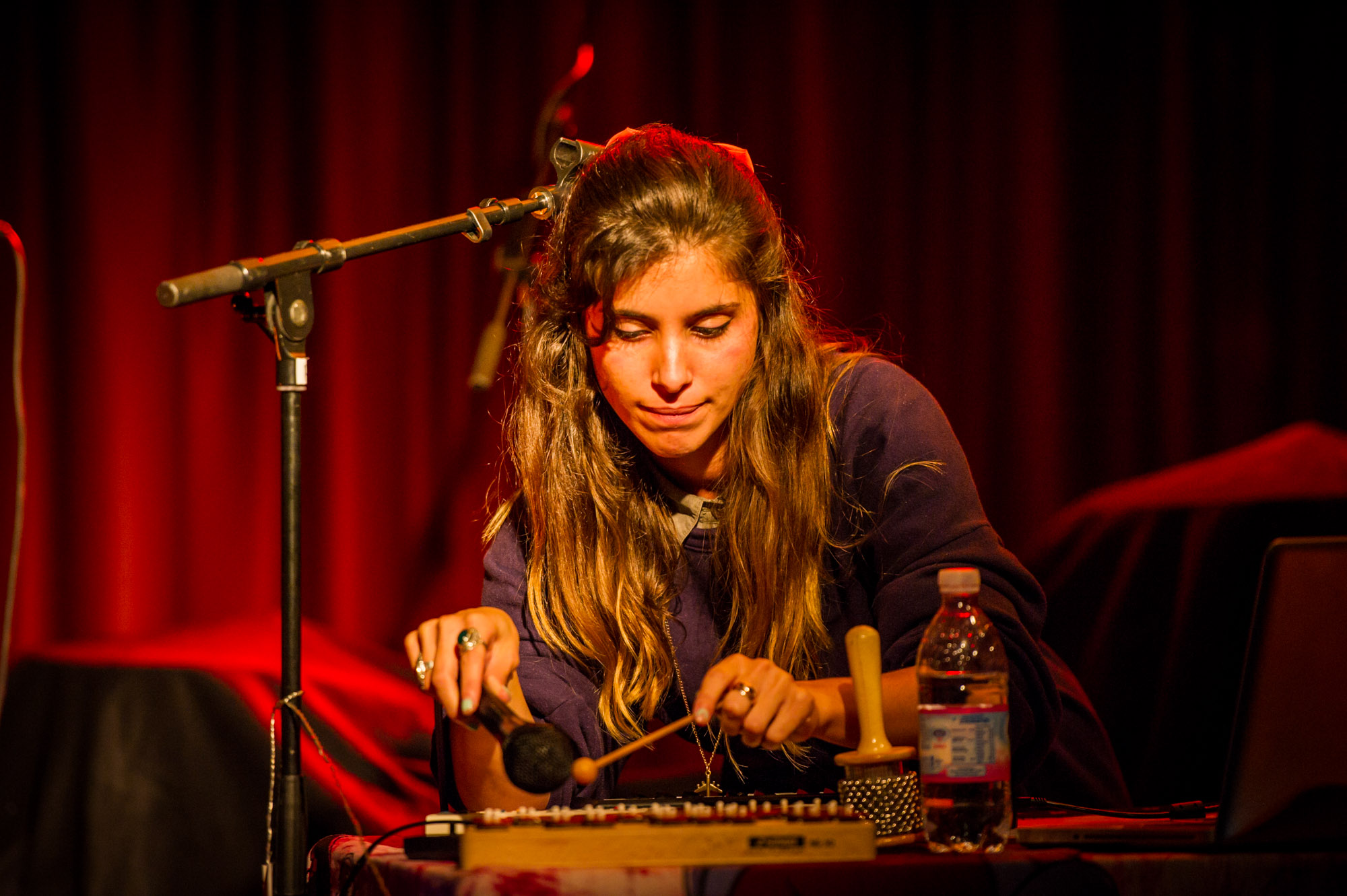 Nadina Carina at This is Tigerr Fest #1 in Papiersaal Zurich