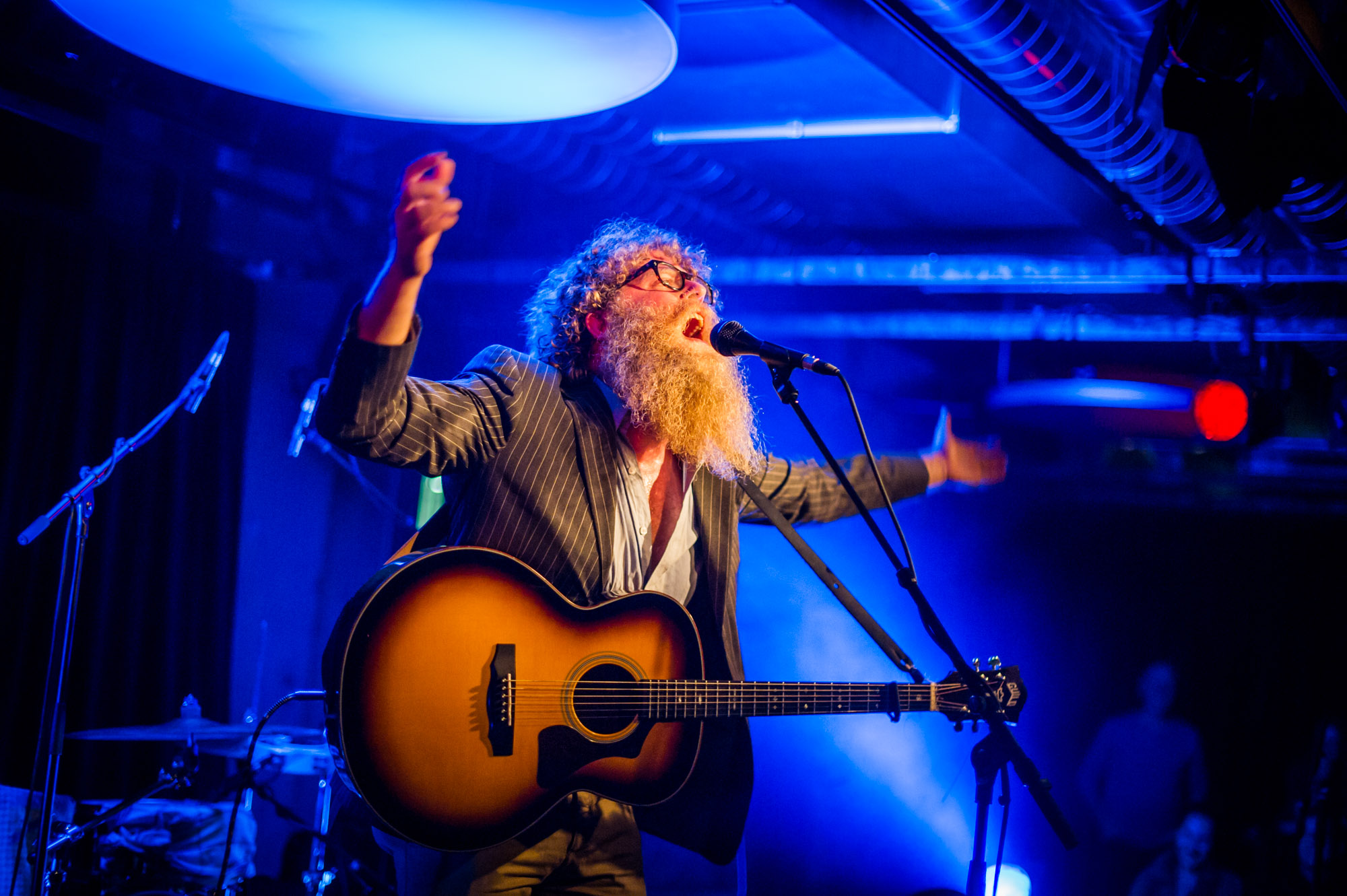 Ben Caplan at This is Tigerr Fest #1 in Papiersaal Zurich